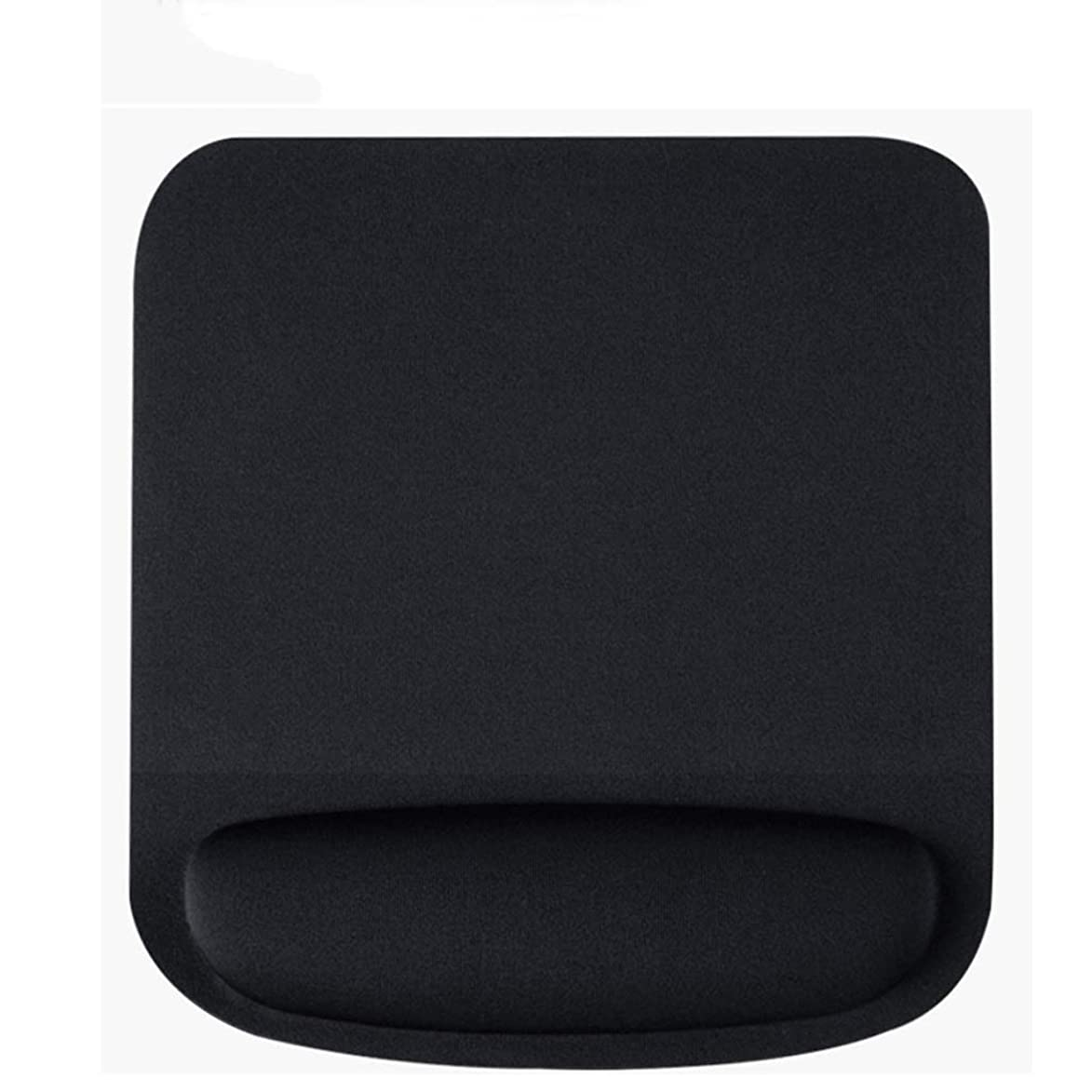 LLSDLS Memory Cotton Computer Game Mouse Pad Wrist Pad Padded Simple Office 3D Stereo Wrist Pad Rubber Boys and Girls Mouse Pad (Color : Black) dyg299551613400