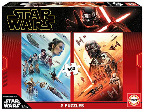 Educa Borras - Serie Star Wars, 2 puzzles de 500 piezas Star Wars The rise of Skywalker (18361)