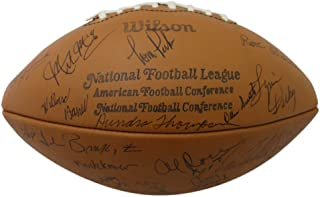 1976 Green Bay Packers Team Signed Leather Football Starr 52 Sigs JSA LOA