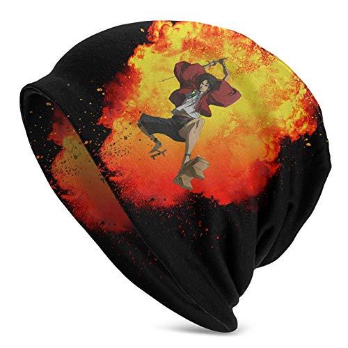 Samurai Champloo Cap Beanie Hut, Skull Hat Helm Futter Glatze Cap, Geeignet für den...