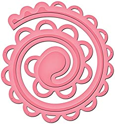Spiral Rose Technique Tutorials - Spellbinders Spiral Blossom Die Two (2)