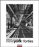 Andreas Feininger - New York in the Forties. Wandkalender 2020. Monatskalendarium. Spiralbindung. Format 46 x 55 cm - Weingarten