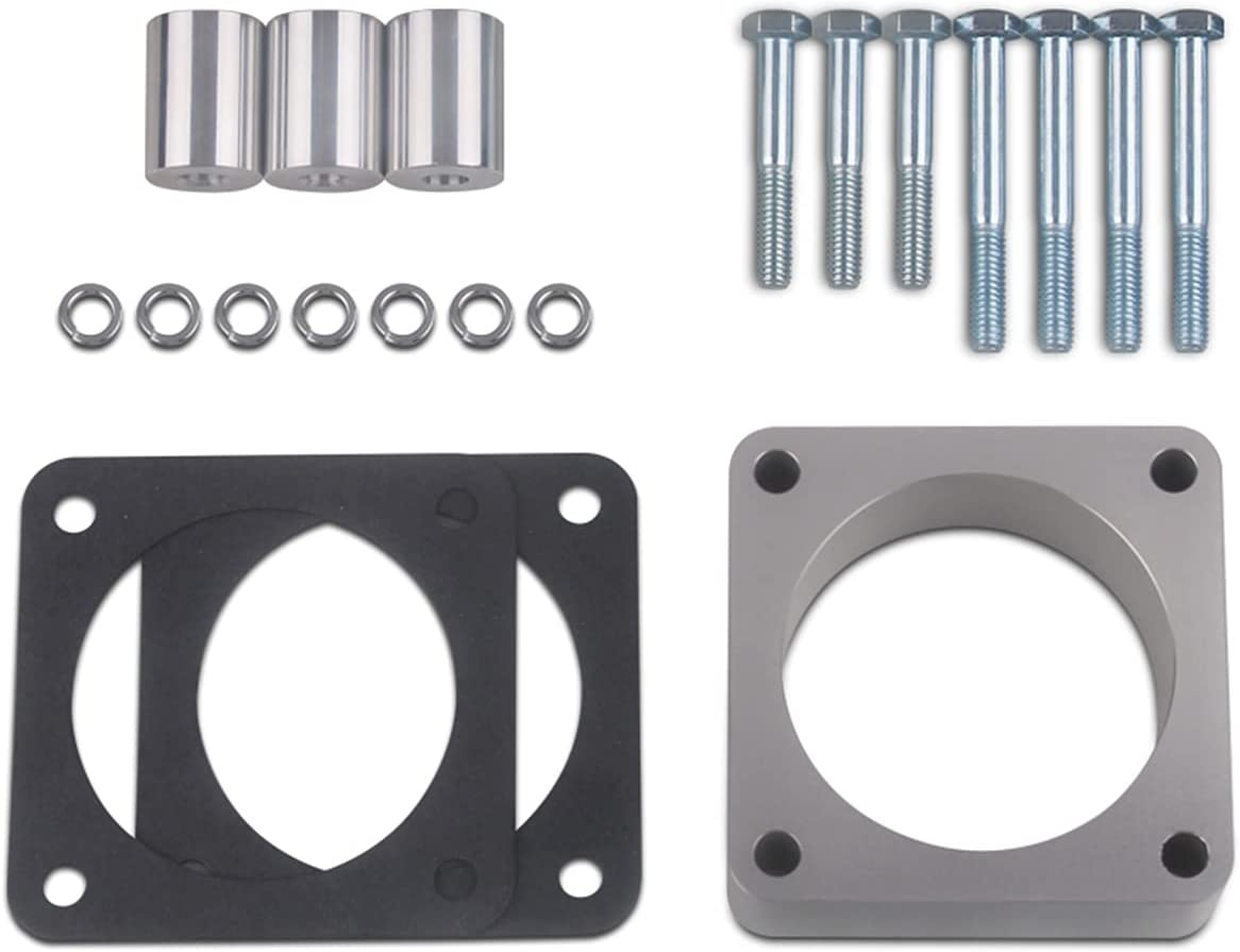 Drspear Throttle Body Spacer Replacement Product Wrangler Charlotte Mall for 2.5L 4.0L