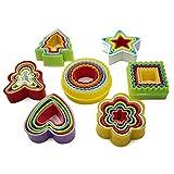 MMBOX - Juego de cortadores de galletas de varios tamaños (7 unidades, 35...