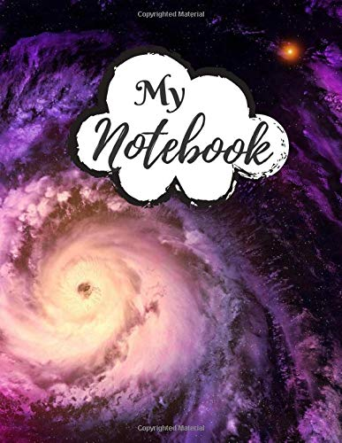 My Notebook: Password Book, Password Logbook and Internet Password Organizer, Alphabetical Password Book, Logbook To Protect Usernames - 120 Pages - ... inches) - Premium Space Galaxy Cover (Vol.19)