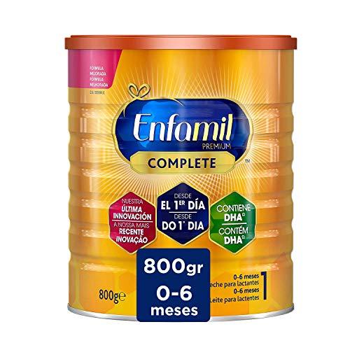 Enfamil Complete 1 - Leche Infantil para Lactantes de 0 a 6 Meses de Edad, Fórmula para Bebés Recién Nacidos - 800 gr