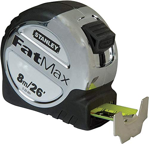 STANLEY 3 x Fatmax Pro Tape, 8m Length