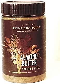 Zinke Orchards Crunchy Almond Butter (3 Pack) 16oz Jars