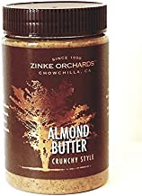 Zinke Orchards Crunchy Almond Butter (16oz Jar)
