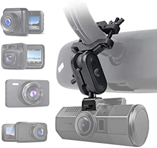 """Dash Cam Mirror Mount, Compatible with 99% Dash Cam/DVR, for YI 2.7"""", YI Nightscape, Rexing V1, AUKEY, UGSHD, Z-Edge, Old Shark, KDLINKS X1, Crosstour and Most Other Dash Camera"""