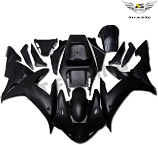 NT FAIRING Matte Black Injection Mold Fairing Fit for Yamaha 2002 2003 YZF R1 R1000 YZF-R1 New Painted Kit ABS Plastic Motorcycle Bodywork Aftermarket