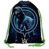 LIUDAINC A-LAN Wa-lker Travel Camping Lightweight Drawstring Backpack Bag