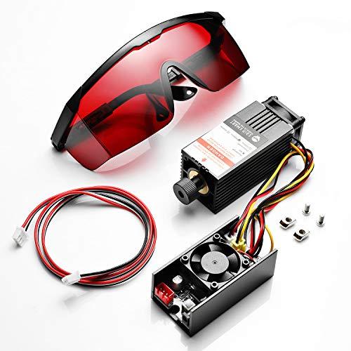 SainSmart Kit Modulo Laser Blu 445nm/5.5W per Macchina CNC Genmitsu 1810-PRO/3018/3018-PRO