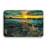 Indoor Outdoor Sunset Entrance Rug Floor Mats Shoe Scraper Doormat Indoor Door mats Indoor Door mats