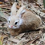 15 cm réaliste mignon en peluche lapins réaliste Animal Simulation jouet cadeau d'anniversaire jouets et loisirs en peluche
