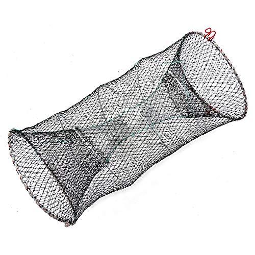 Rmage Myouzhen-Faltbare Fischernetze Faltende Angelgussnetze, Fischkrabben-Fallen-Netzwerk, Käfige Shrimp Nylon-Netz, Fischereikäfigfalle Cast Net, Hochwertig und langlebig (Color : 3360)