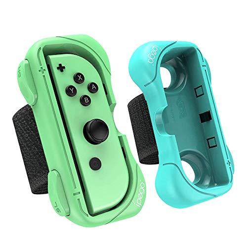 Armband Joy Con Grip kompatibel für Nintendo Switch Just Dance 2019 2020, Einstellbare Elastische Handgelenksband Tanzgriff Grips für Switch Just Dance/Mario Tennis Ace/Fitness Boxing