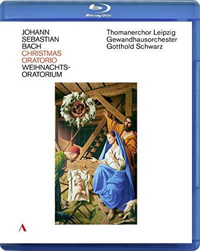 J. S. Bach: Christmas Oratorio - Thomanerchor Leipzig, Gewandhausorchester Leipzig, Gotthold Schwarz (Live from St. Thomas Church Leipzig) [Blu-ray]
