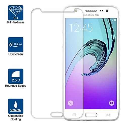Beiuns Vetro temperato Protettiva Protezione protettore Proteggi Schermo per Samsung j5 2016