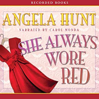 She Always Wore Red audiobook cover art