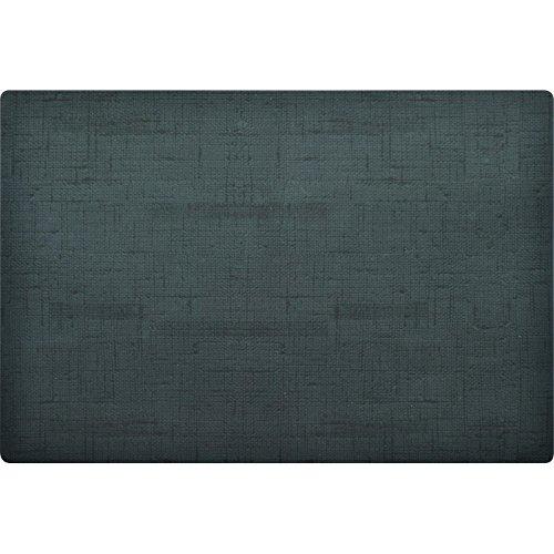 AmazonUkkitchen Duni Silikon-Platzdeckchen, 30 x 45 cm, 0, 6 Stück, Schwarz, 6