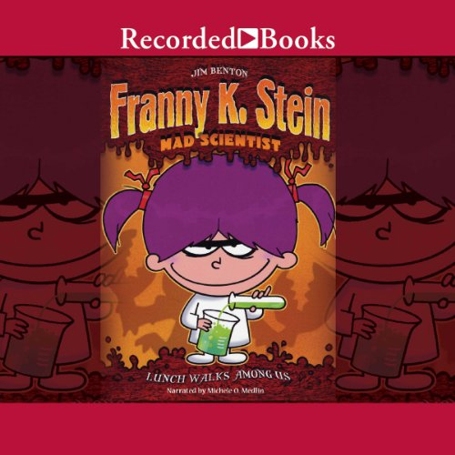 Franny K. Stein, Mad Scientist audiobook cover art