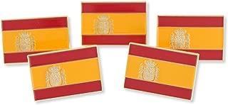 Spanish Flag Spain Rojigualda Bandera de España Enamel Lapel Pin