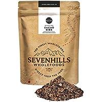 Sevenhills Wholefoods Puntas de Cacao Crudo Orgánico (Nibs) 1kg