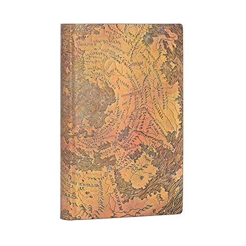 Paperblanks Flexis Hunt-Lenox Globus - Cuadernos de tapa blanda (rayados, 95 × 140 mm)