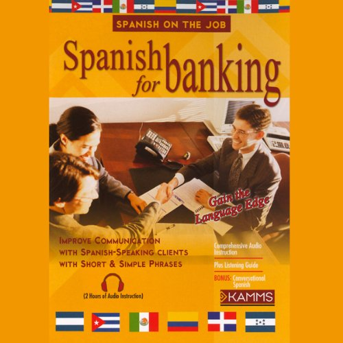 Spanish for Banking audiobook cover art