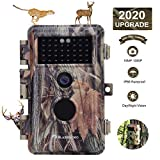 BlazeVideo Game Trail Camera Night Vision 16MP HD 1920x1080P Video Hunters Wildlife Hunting Cam No...