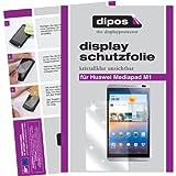 dipos I 2X Schutzfolie klar kompatibel mit Huawei MediaPad M1 8.0 Folie Bildschirmschutzfolie
