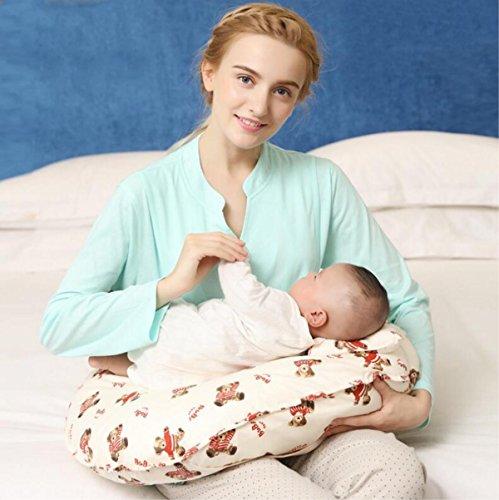 Maternité Femmes Oreiller Allaitement Coussins de Soins pour bébés U-Type Soins Protection de Taille Protection de la veine Alimentation de l'artefact Oreiller Multi-Fonctions, 3
