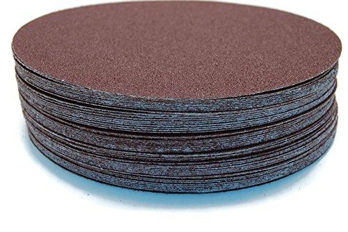 50pc 6in DA Paper PSA Sanding Discs (80 grit)