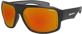 Sunglasses - Mega Bomb Matte Blk Frm / Red Mirror Polarized Lens / Gray Foam