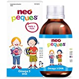 Neo Peques | Jarabe Infantil Omega3 - 150 ml | A Base de extracto de Atún, DHA y Vitaminas | Tomar 0,5 ml/kg de peso corporal | Dosis diaria máxima 20 ml | Apto a partir de los 6 meses