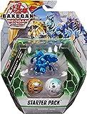 Bakugan Starter Pack 3-Pack, Dragonoid Ultra, Geogan Rising Collectible Action Figures