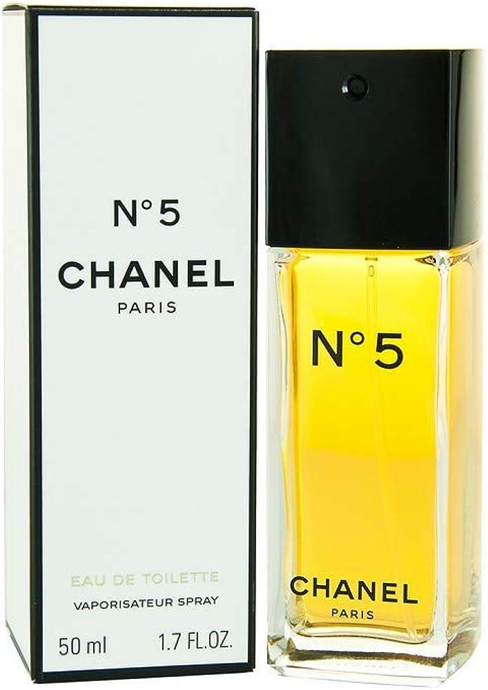 Chanel n° 5 eau de toilette per donna vaporizzatore 50 ml 16861