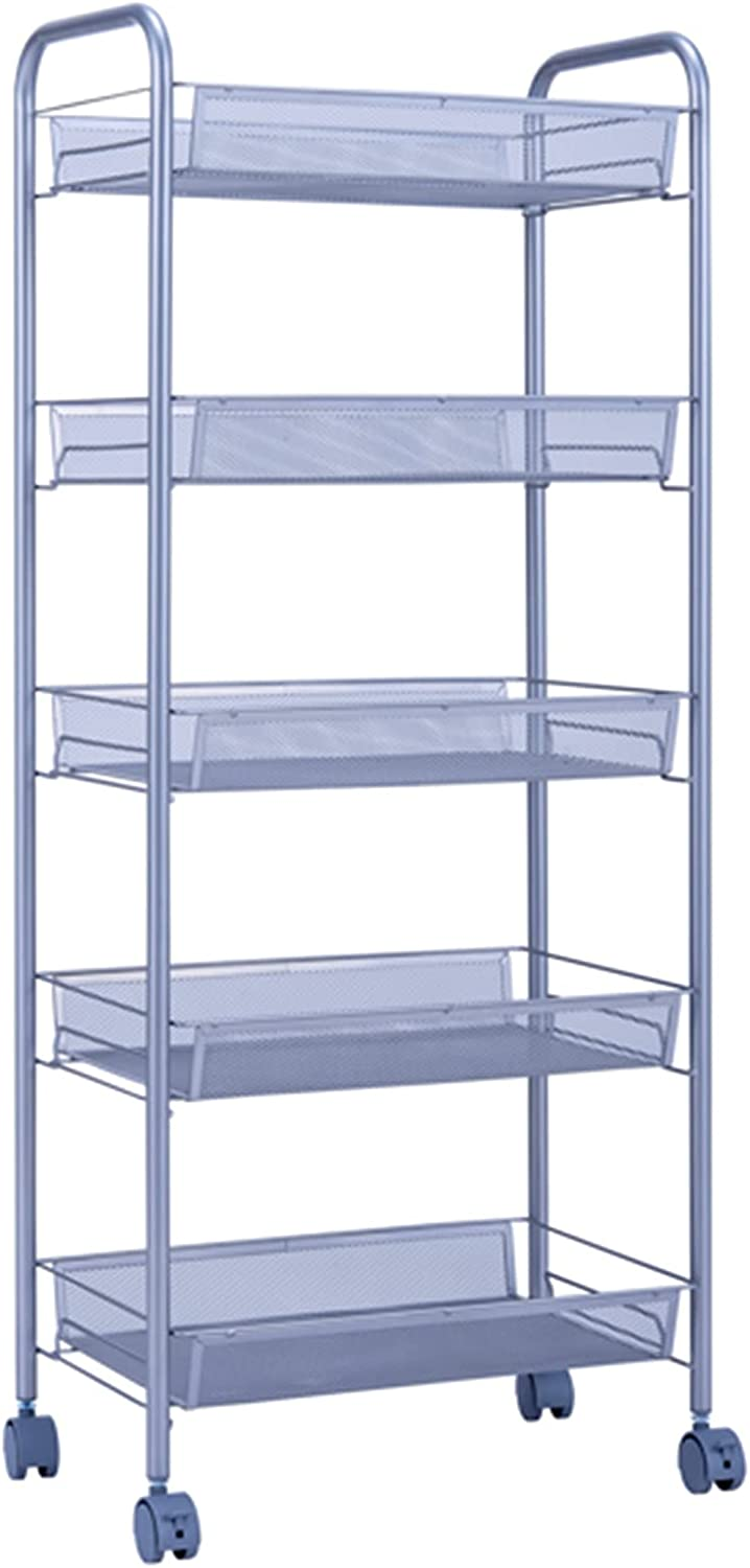 3 Tier Rolling Cart Metal Manufacturer OFFicial Limited time for free shipping shop Utility Storage with Trolley Push