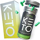 Keto Diet Pills for Men & Women - 2 Month Supply - MCT Oil & Green Tea Plus Vitamins and Minerals - UK Made - Vegan - Contributes to Fatty Acid & Carb Metabolism - Safe & EU Legal Formulation