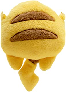 GK-O Anime Pikachu Style Buttock Cute Plush Single Shoulder Bag Crossbody Message Bag Girls Handbag Makeup bag