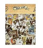 30 tarjetas postales vintage, antiguas tarjetas de viaje retro para coleccionar, regalo (anuncios americanos)