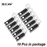 Keychain Flashlight 10 Pack, MECO Mini Flashlight LED Camping Keyring...