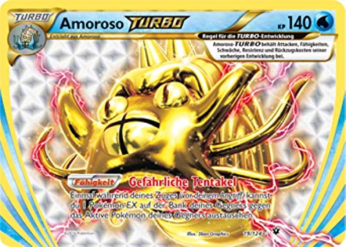Amoroso Turbo 19/124 Pokémon XY Schicksalsschmiede Sammelkarte - Deutsch - Cardicuno