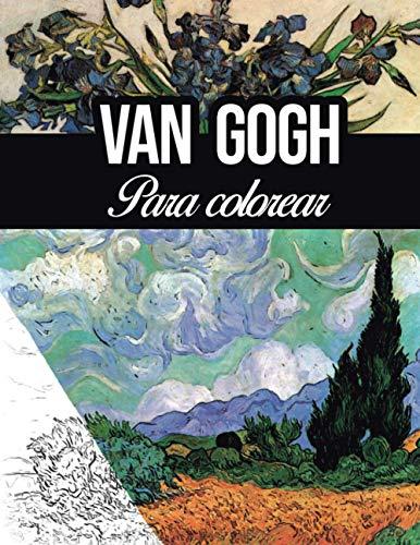 Van gogh para colorear: teoría del color bocetos para colorear pinturas acuarela oleo lienzo