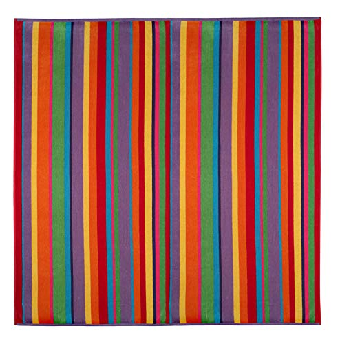 Cotton Craft Oversized Woven Velour Beach Towel