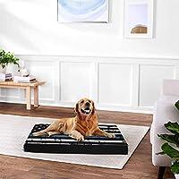 細い青線 ペットベッドドッグベッド優れたクッション性の脚と古い犬や子犬に適した関節マルチヘッド、滑りにくい、ペットの猫ペットベッドエルゴノミック