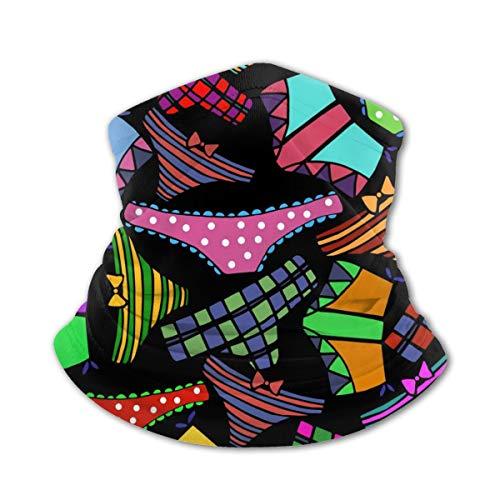 Akhy Multifunctional Headwear Boys Girl Face Mask Headband Neck Gaiter Female Fashion Lingerie Balaclava for Teens