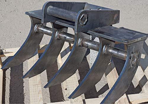 Preisvergleich Produktbild Roderechen,  Wurzelrechen,  Baggerharke 0, 60 cm MS01