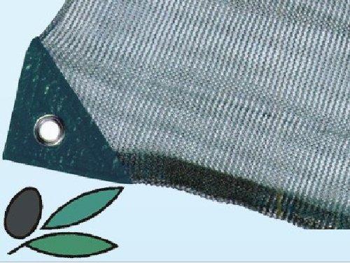 Réseau Serviette x Olive MT. 12x 12avec ouverture Gr. 92x m² avec coins de renfort